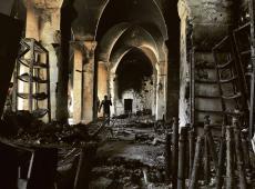 Verwoestingen aan de Omayadan-moskee, Aleppo