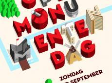 Affiche Open Monumentendag 2017 (bron; Herita)