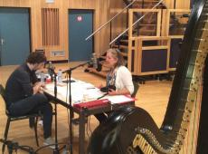 Remi Van Kesteren in Studio Toots (foto: KLARA)