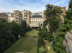 De tuin van Museum Ridder Smidt van Gelder (Antwerpen - bron: AG Vespa)