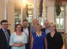 Marius Meremans, Karin Brouwers, Orry Van de Wauwer, Katia Segers, Cathy Coudyser, Bart Caron,