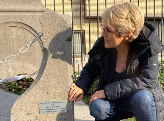 Peterschap grafmonument Hofman