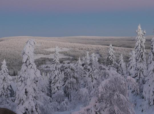 foto: Johan Swinnen, Iso-Syöte in Lapland, 30 december 2018