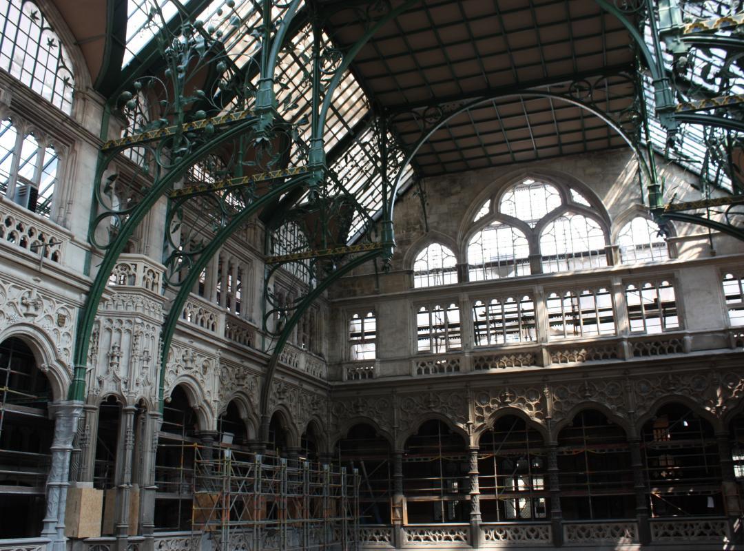 Renovatie Handelsbeurs Antwerpen (foto: Dirk Vermeiren)