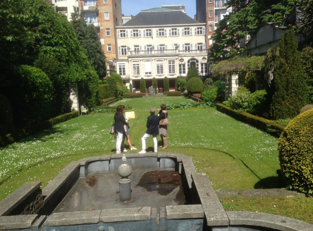 De tuin van Museum Ridder Smidt van Gelder (Antwerpen)