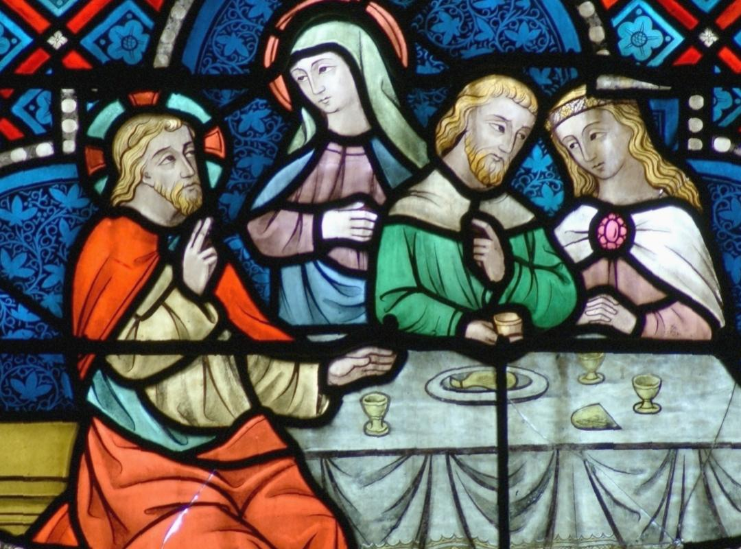 Glasraam Sint Amanduskerk Antwerpen (Seefhoek)